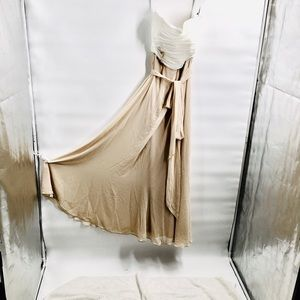 After six blush maxi dress formal gown share S